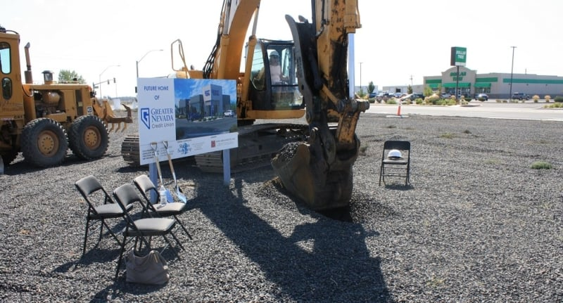 Shaheen Beauchamp Builders breaks ground on GNCU Fernley