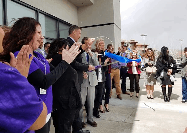 Ribbon cutting at Renown Urgent Care in Carson City